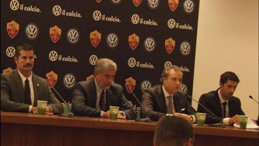 Volkswagen scende in campo con l'A.S. Roma