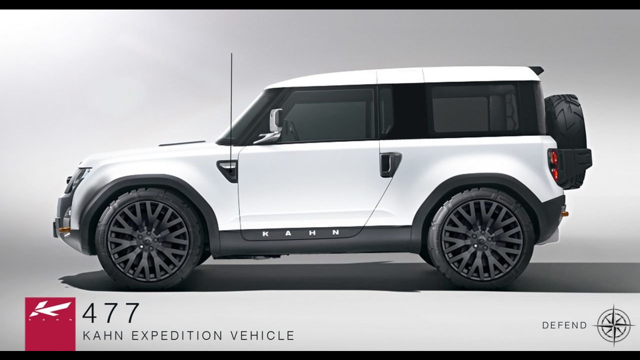 Land Rover DC100 Concept by Project Kahn