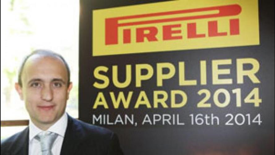 Pirelli continua a premiare i suoi fornitori