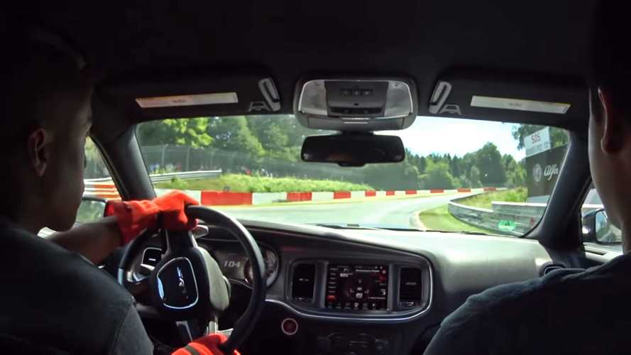 Dodge Charger Hellcat Attacking The 'Ring Is Harrowing Adventure