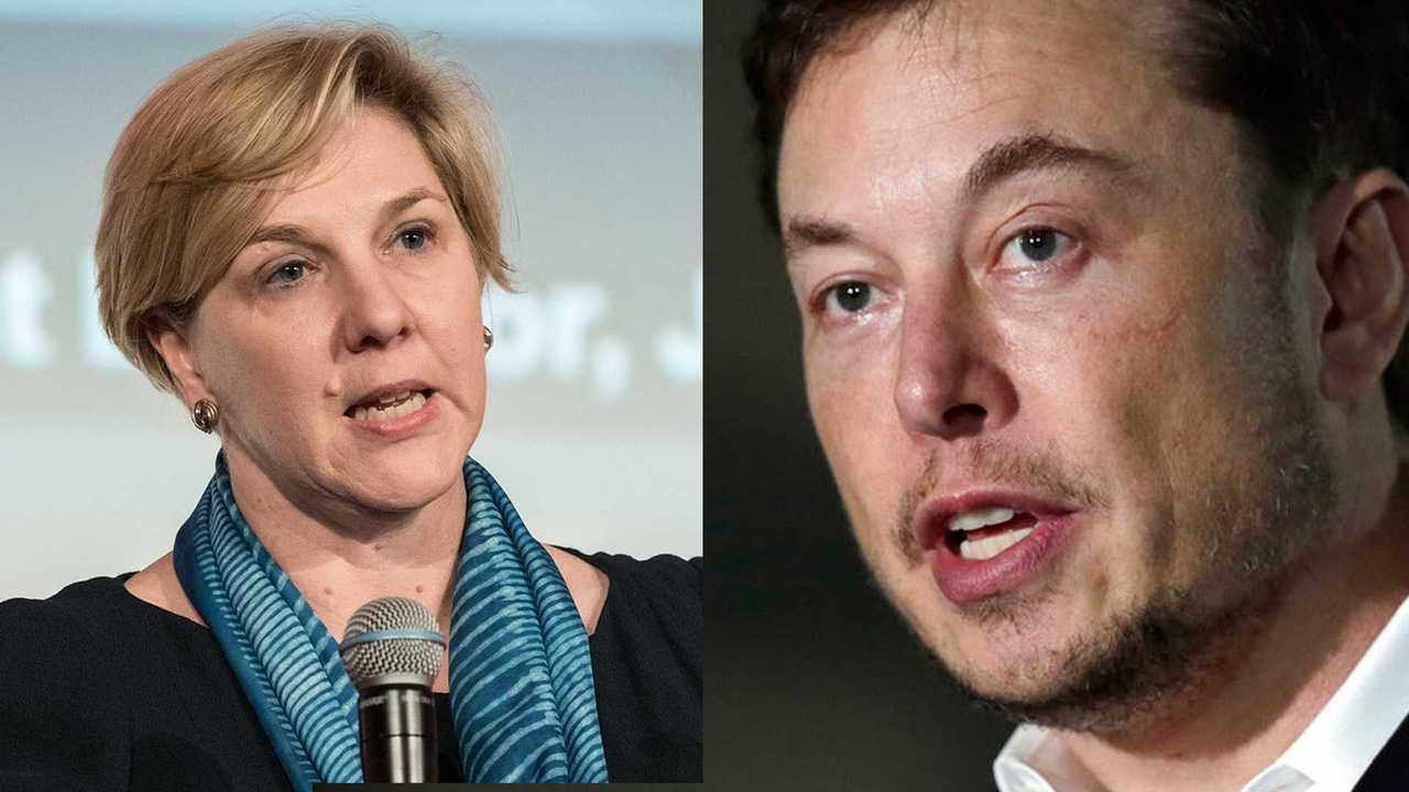Robyn Denholm Elon Musk