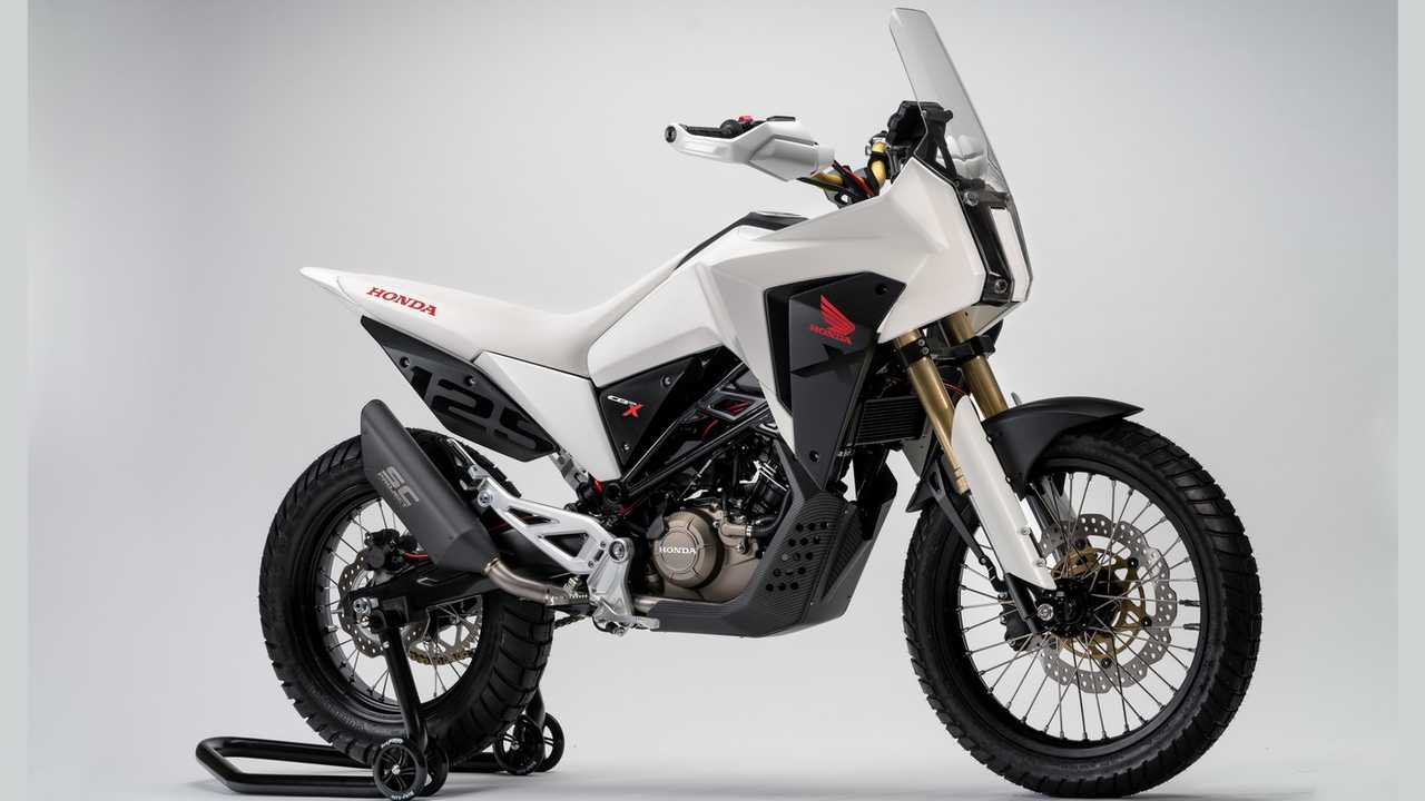 Honda CB125X y CB125M concept bikes
