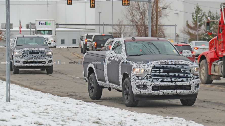2020 Ram HD Truck Lineup Spied On The Street In 49 Photos