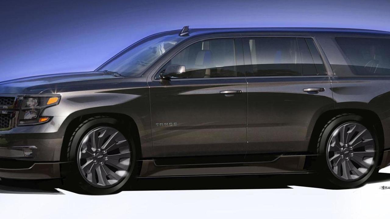 Chevrolet Tahoe Black concept