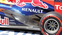 Sebastian Vettel Red Bull Racing RB8 exhaust detail 09.06.2012 Canadian Grand Prix