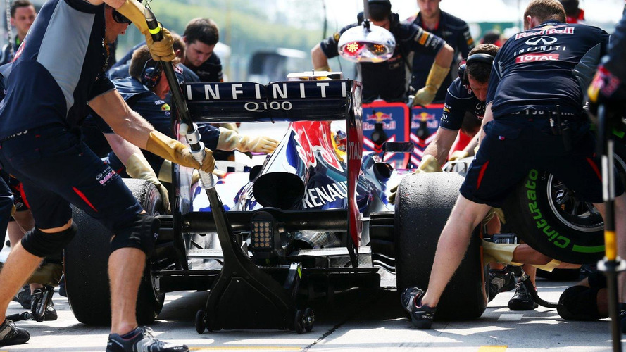 Red Bull also leads pitstop race in 2013