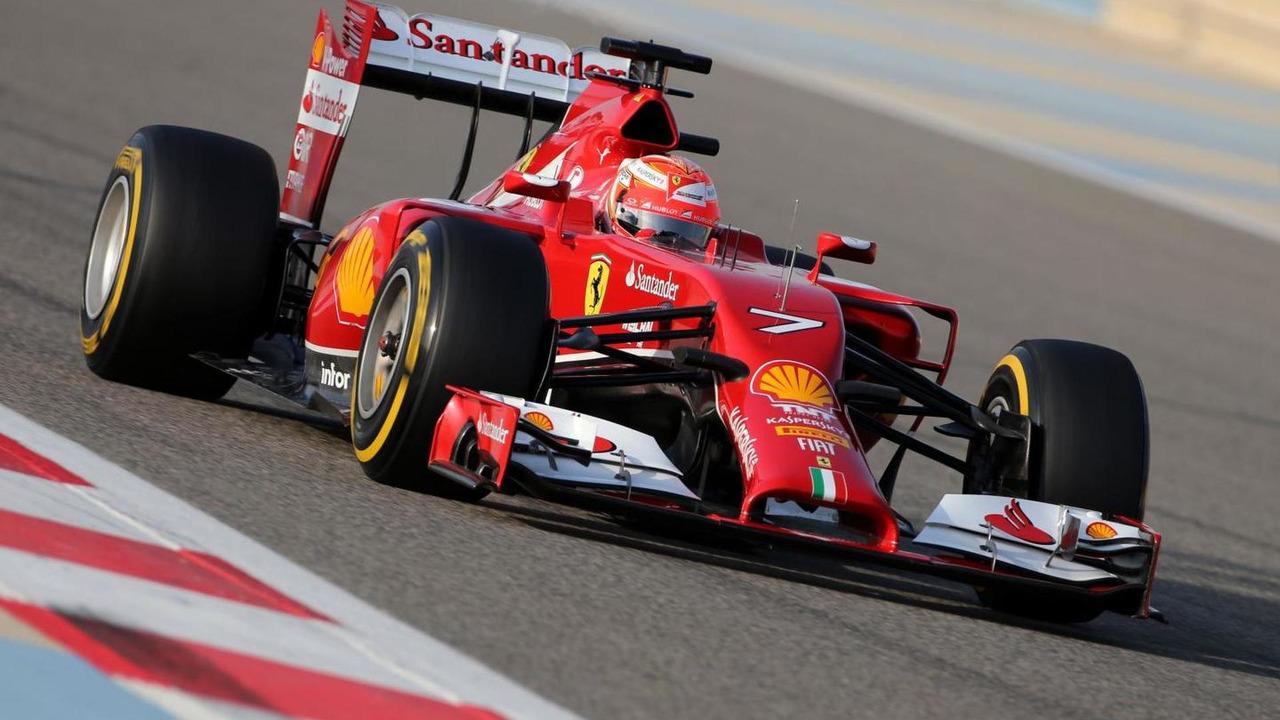 Kimi Raikkonen (FIN), Scuderia Ferrari 27.02.2014. Formula One Testing, Bahrain Test Two, Day One, Sakhir, Bahrain