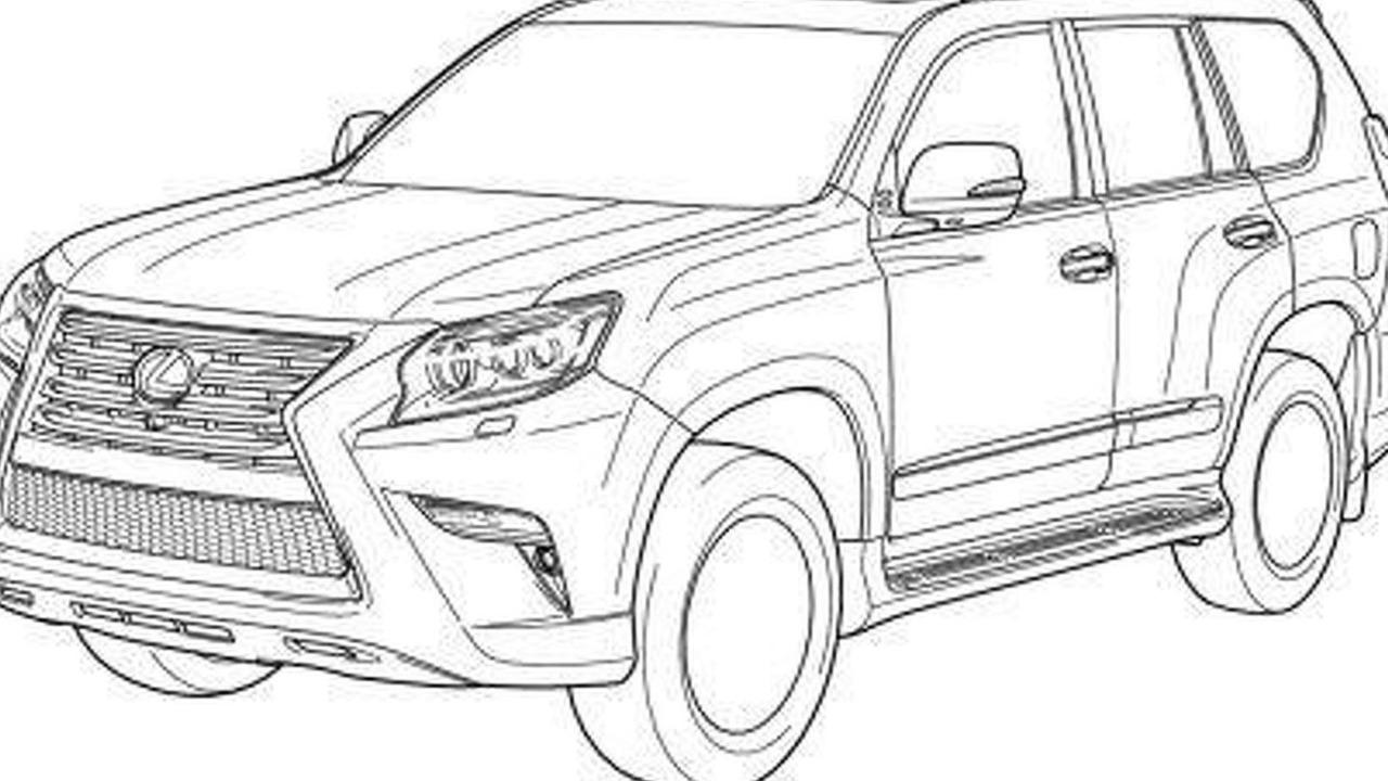 2014 Lexus GX sketch 21.8.2013