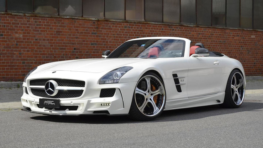 MEC Design shows off their SLS AMG Roadster