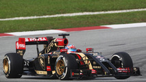 Romain Grosjean, Lotus F1 E22 at 2014 Malaysian Grand Prix