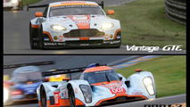 Aston Martin V8 Vantage GTE & DBR 1-2 17.7.2013