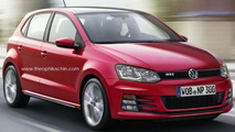 Volkswagen Polo GTI rendering / Theophiluls Chin