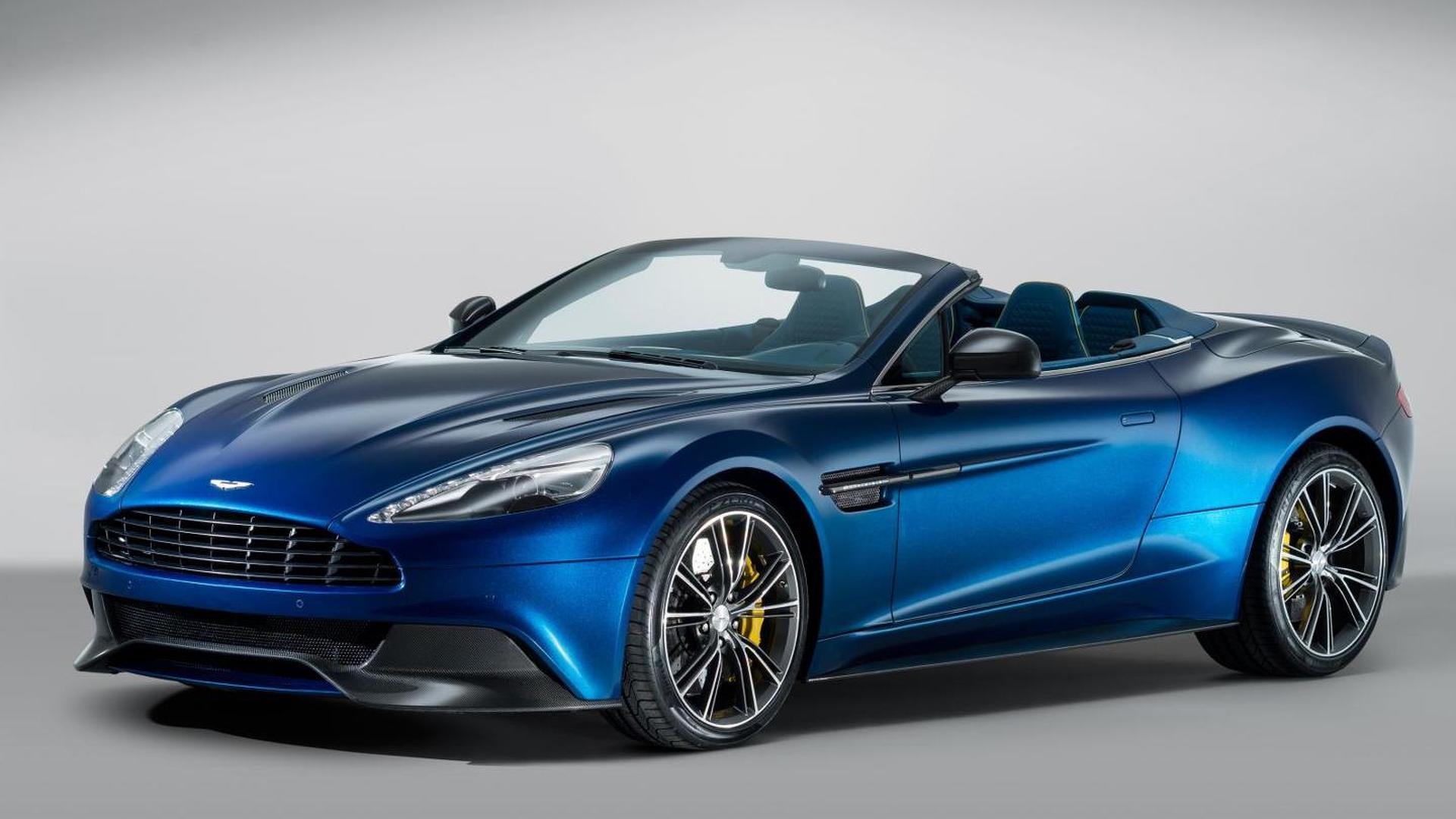 Aston Martin Vanquish Volante Officially Revealed Video