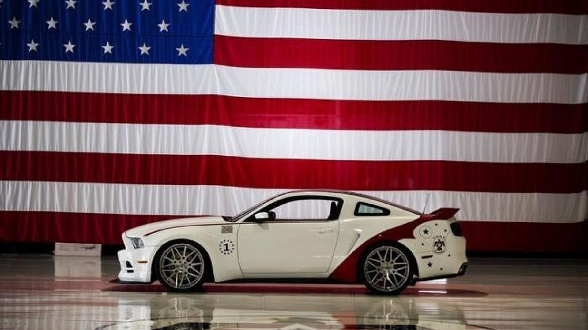 2014 ford mustang u s air force thunderbirds edition sold for 398000 usd