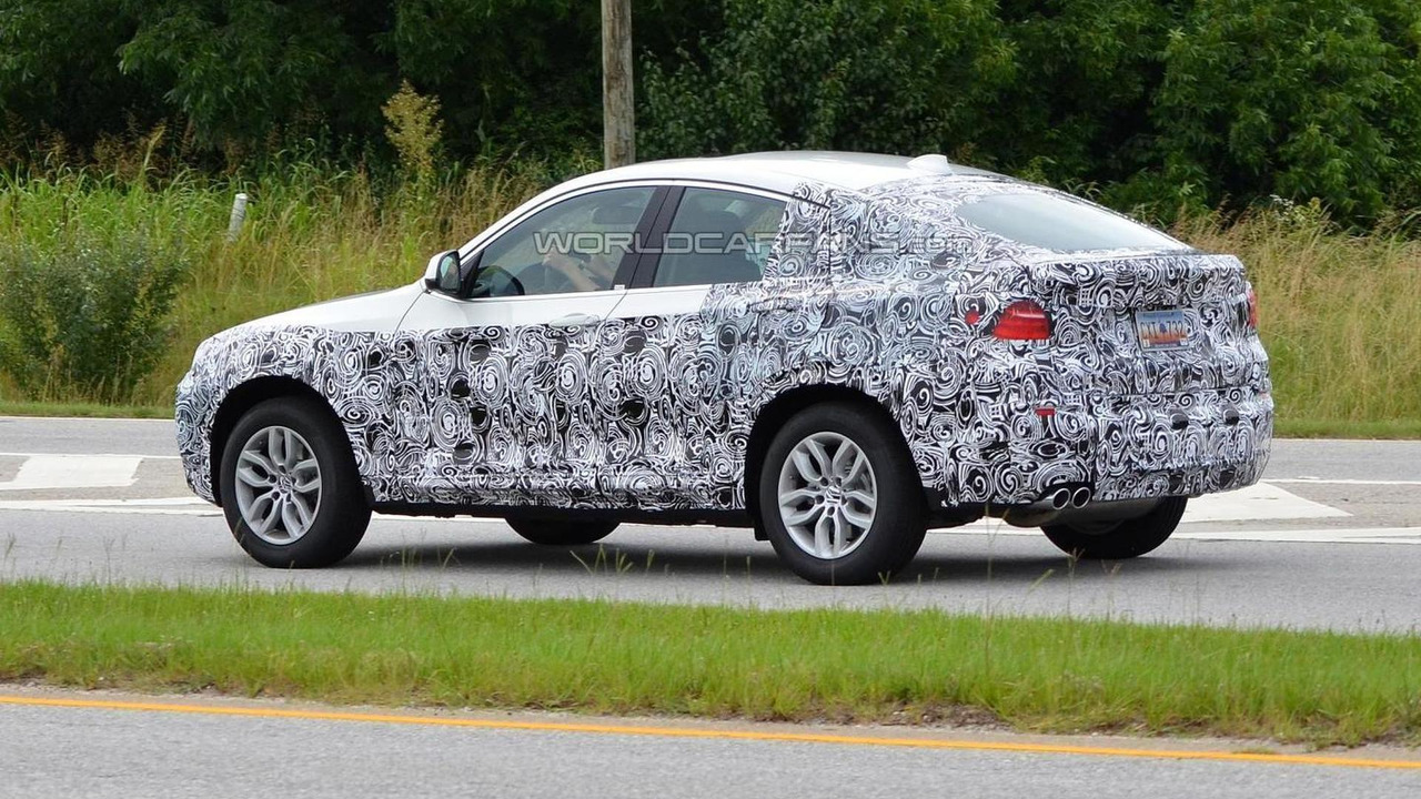 2014 BMW X4 spy photo 03.07.2013