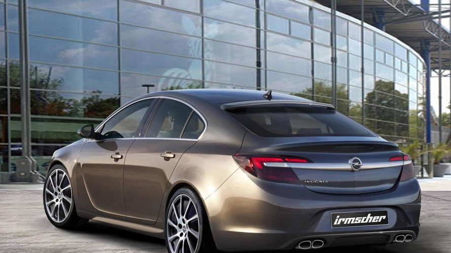 Irmscher tunes the facelifted Opel Insignia for Frankfurt