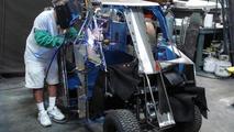 Batman Tumbler golf cart