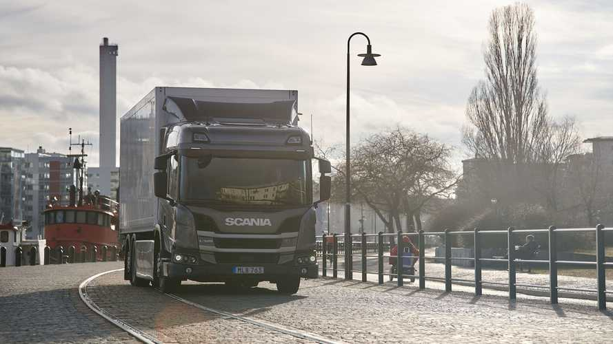 Scania Electric Truck To Be Tested By Denmark's Largest Retailer