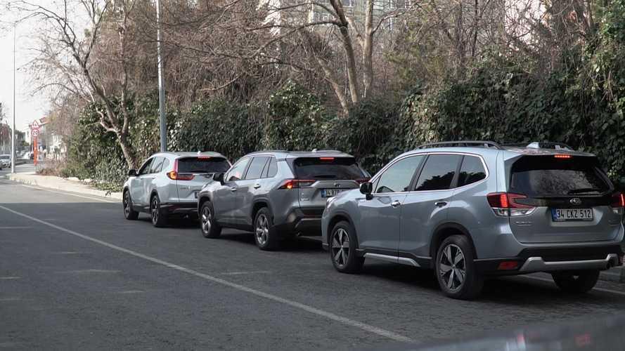 Karşı Karşıya: Toyota, Honda ve Subaru'nun hibrit SUV modelleri - Tüketim