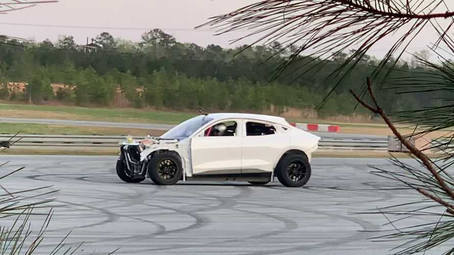 Does This Donut-Hungry Ford Mach-E Prototype Preview A Hot Shelby Model?