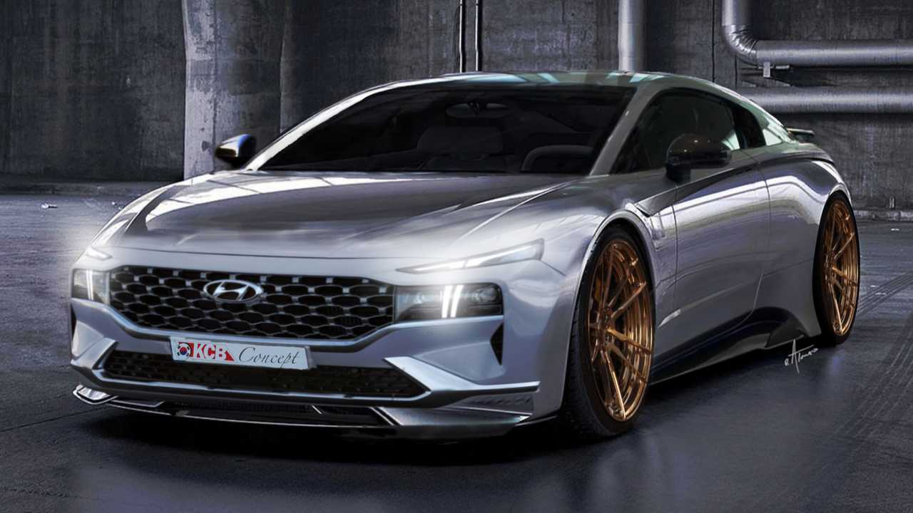 Hyundai Mid-Engine Sports Car Renderings