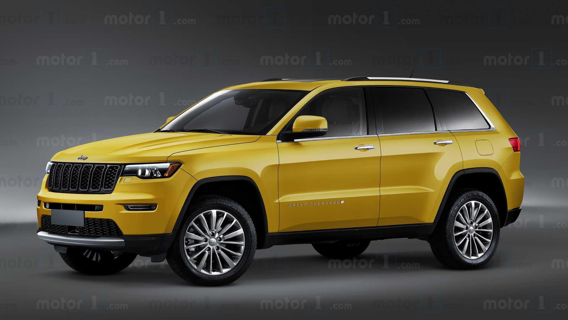 Novo Jeep Grand Cherokee 2022 Projecao Adianta Design Da Proxima Geracao