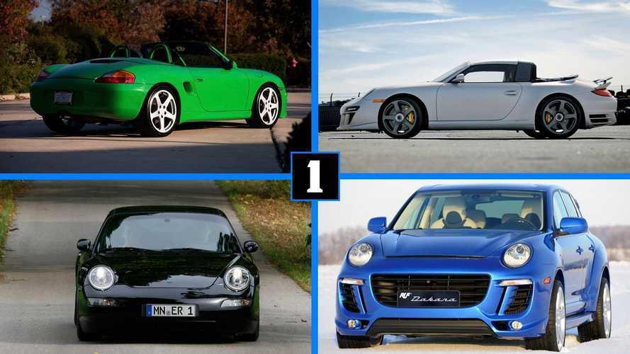 Estos cinco modelos de RUF ocupan un lugar en el olvido