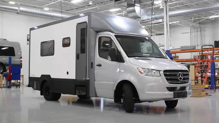 Nuovo camper su base Sprinter, la proposta di Advanced RV