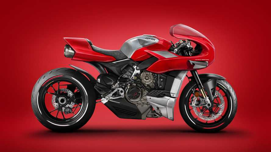 Digital Concept Recaptures The Magic Of Ducati's MH900e