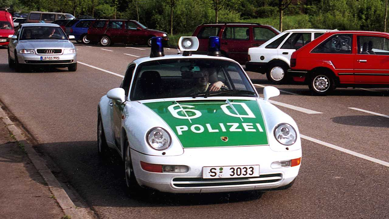 Polizeiautos in Deutschland: Porsche 911 (993)