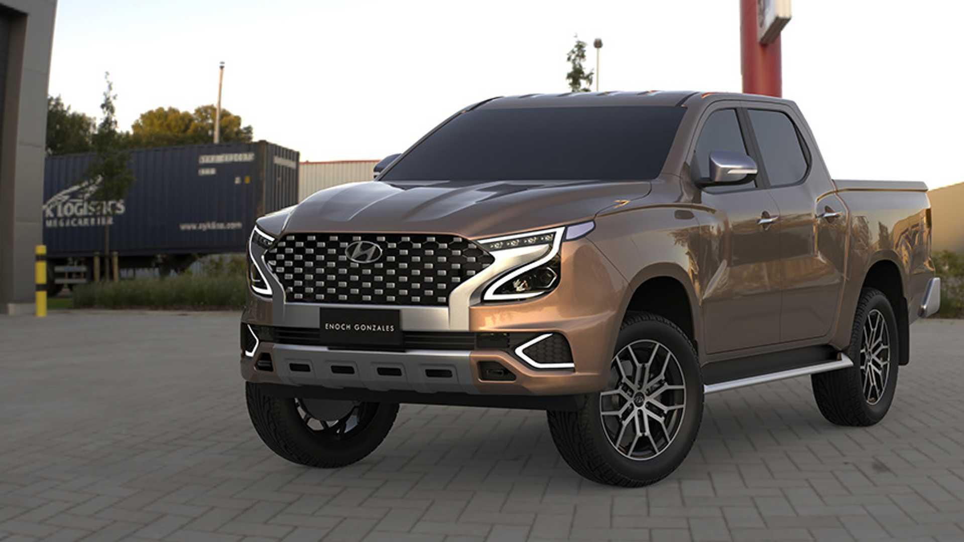 2021 - [Hyundai] Pickup  2022-hyundai-tarlac-truck-rendering