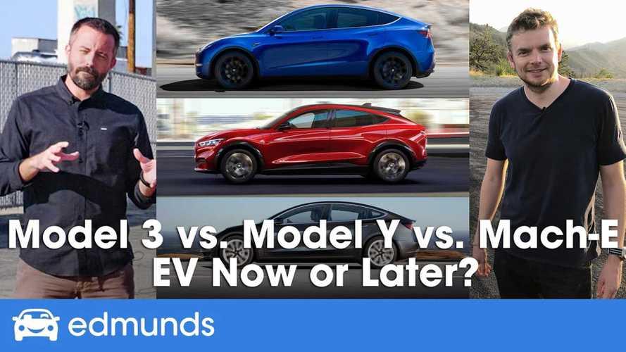 Edmunds 'Real-World' EVs Compared: Tesla Model Y, Model 3, Mustang Mach-E