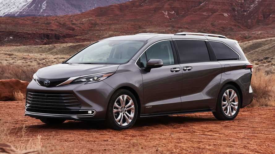 2021 Toyota Sienna Debuts With Standard Hybrid Powertrain, Bold Looks
