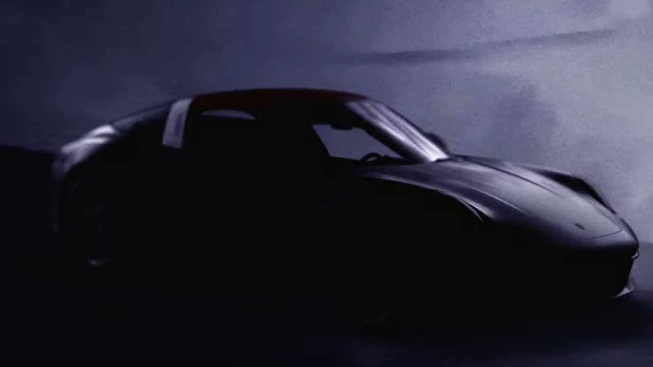 Porsche 911 rendszám teaser