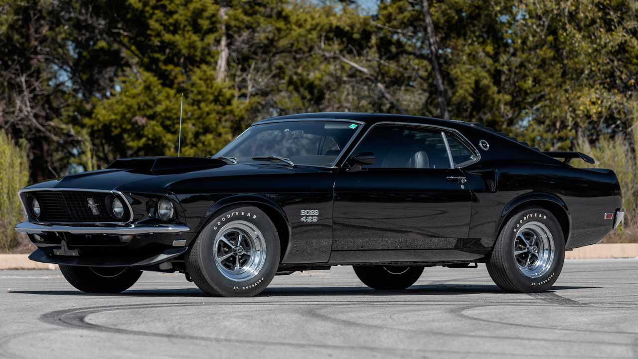 1969 Mustang Boss 429 Mecum Auction