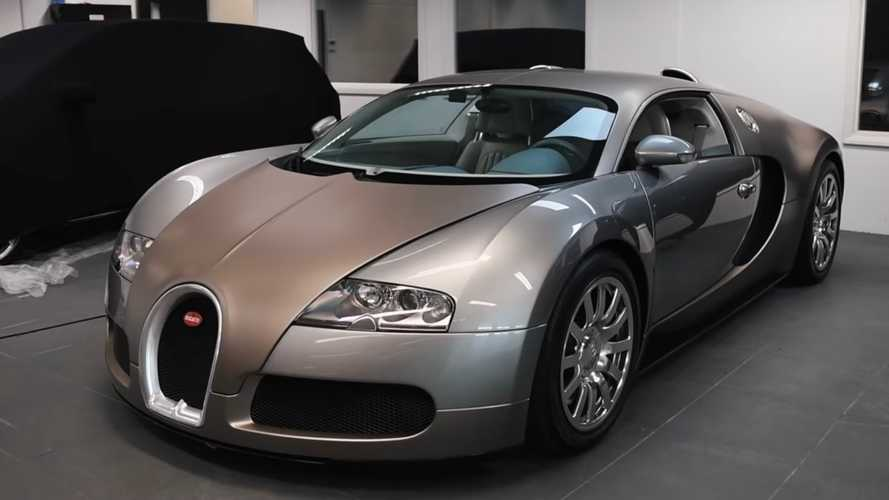 Bugatti Veyron in Ferrari colour
