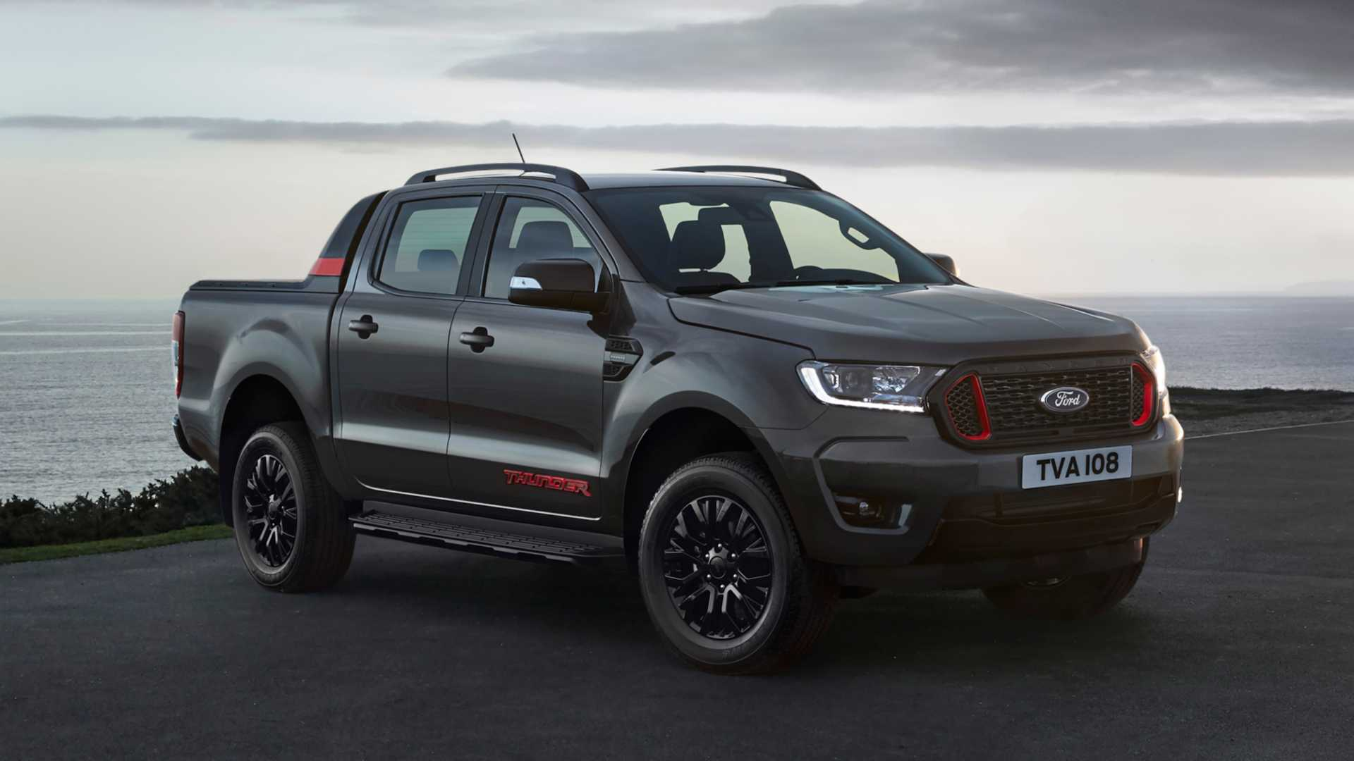 Limited-edition Ford Ranger Thunders into UK priced from £32,965