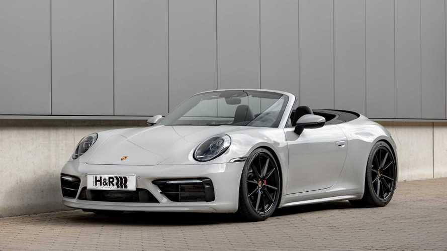 H&R-Sportfedern für den Porsche 911 (Typ 992)