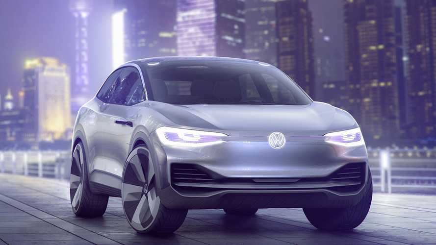 Volkswagen показал полноприводный кроссовер-купе на электротяге