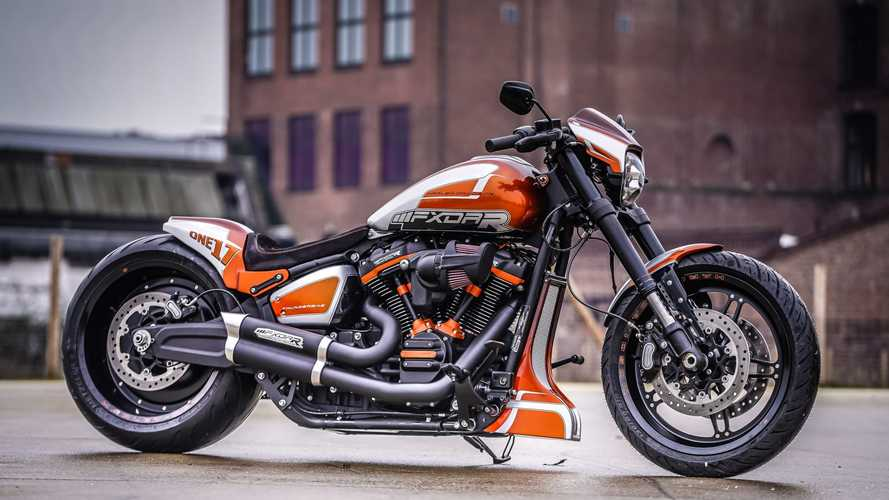 Harley Shop Creates FXDR For Drag Strip And Main Strip