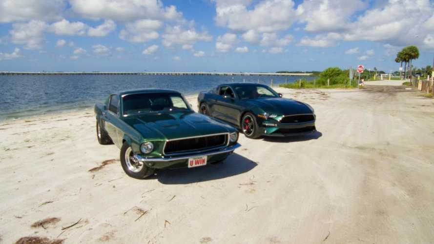 You could win a pair of Bullitt Mustangs by donating to charity!