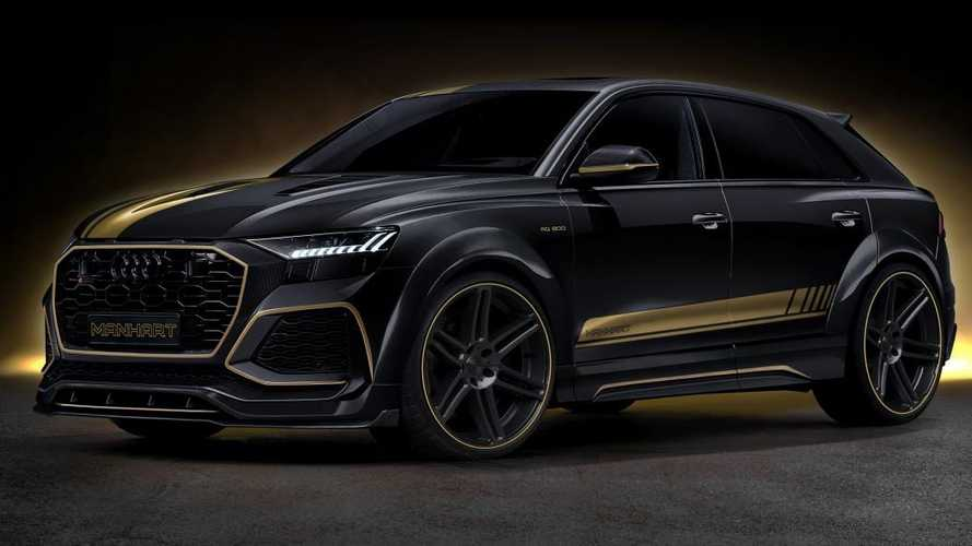 Audi RS Q8 Gets Aggressive Design And Nearly 900 HP From Manhart