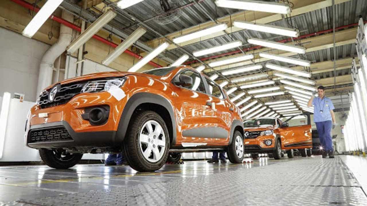 Kwid fábrica Renault