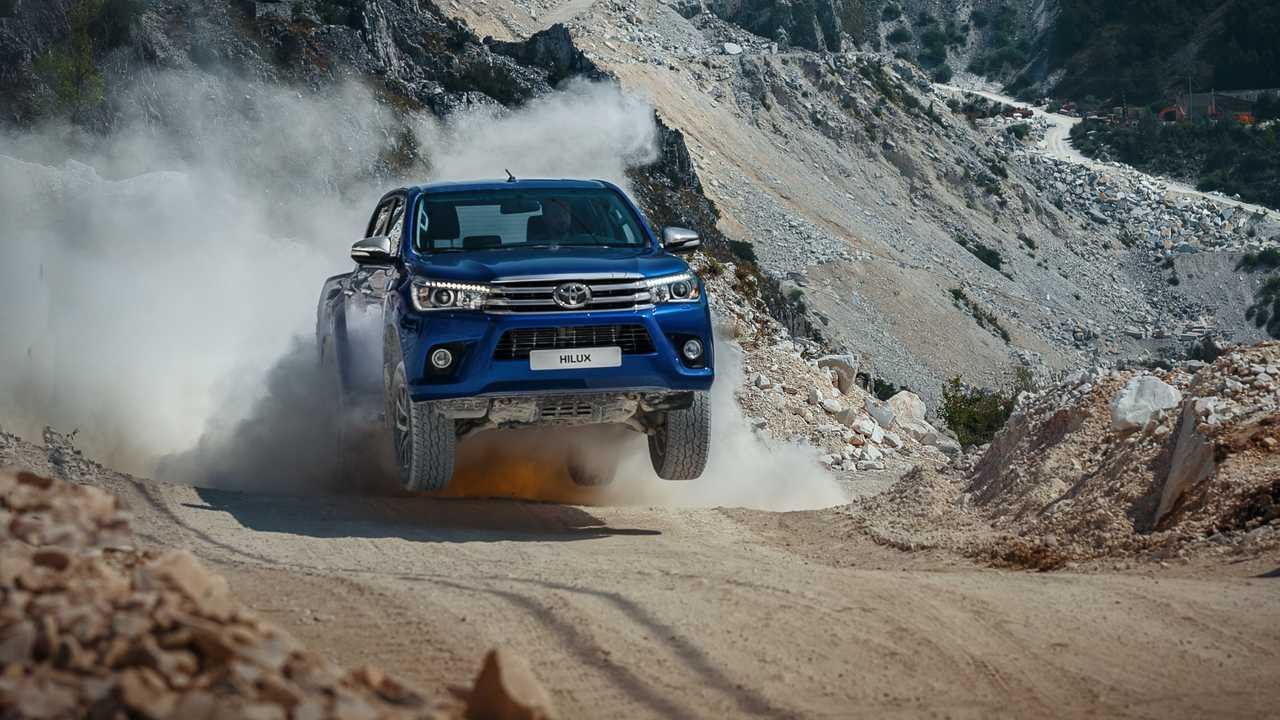 Toyota Hilux – 56 км/ч