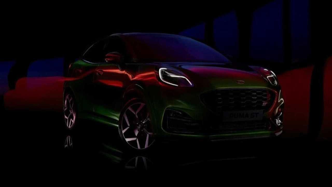 Ford Puma ST Teaser UK