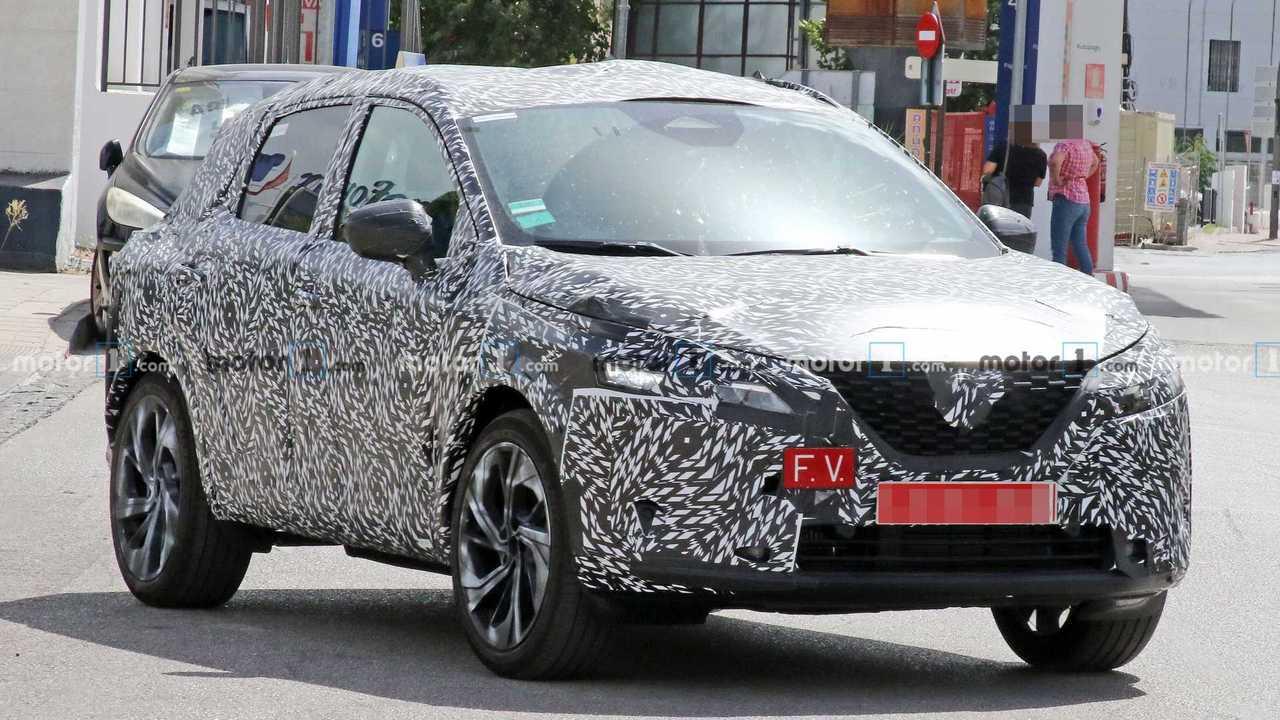 Новый Nissan Qashqai - шпионские фото