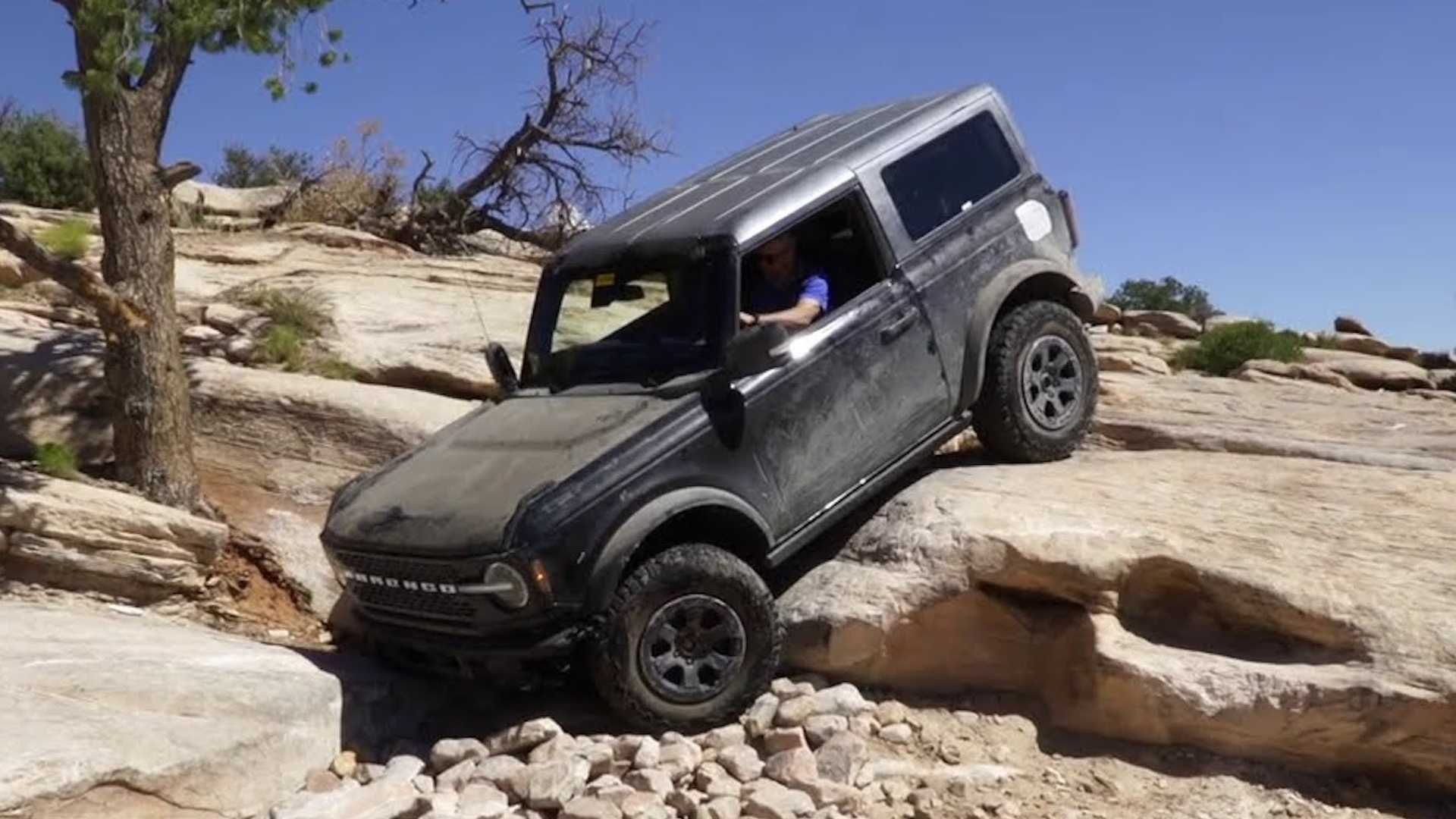 Ford Releases Own Video Of 2021 Bronco Rock Crawling In Moab