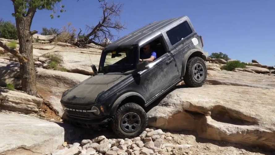See Ford Bronco And Jeep Wrangler Climb Rocks In Direct Comparison