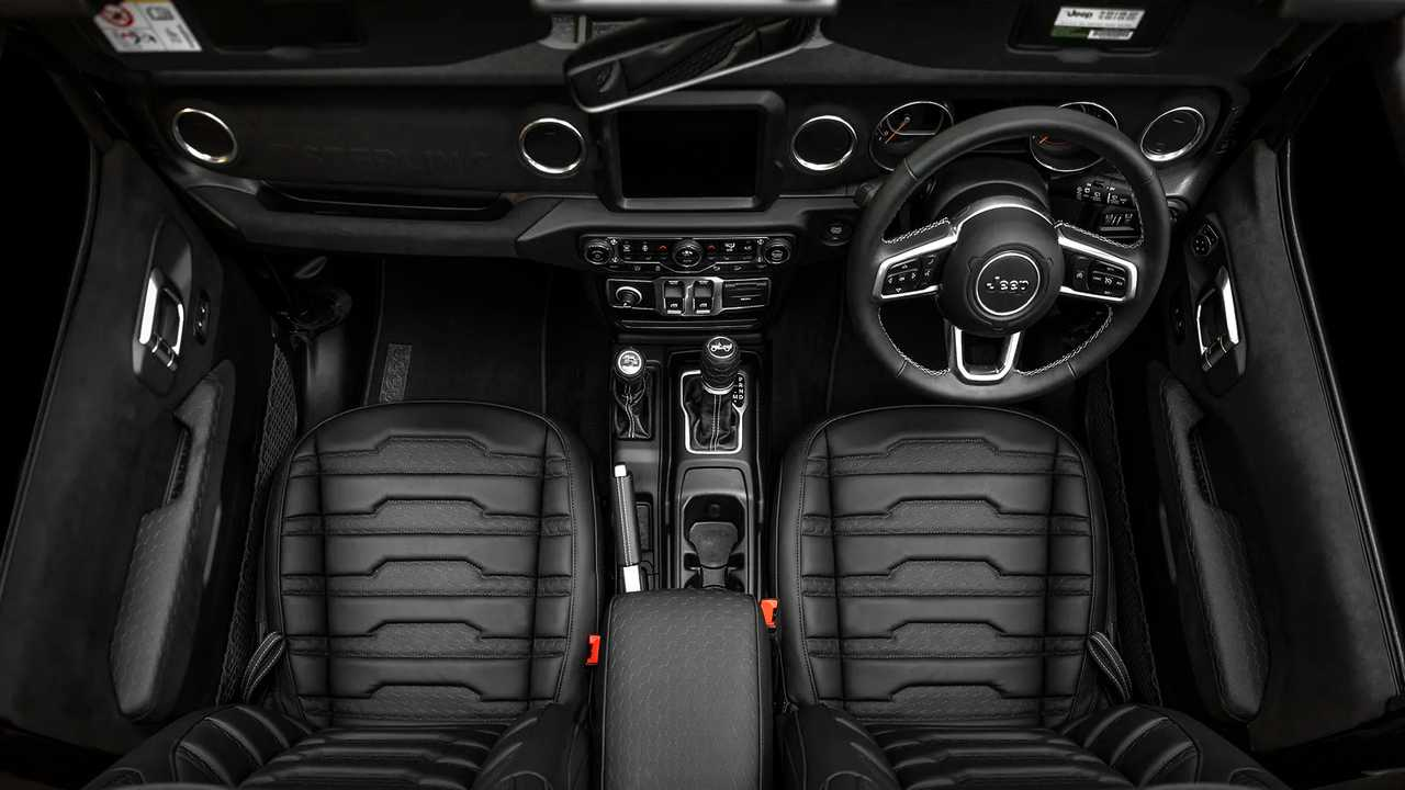 Jeep Wrangler Gets Luxury Upfit From Sterling In Uk Costs 65 000