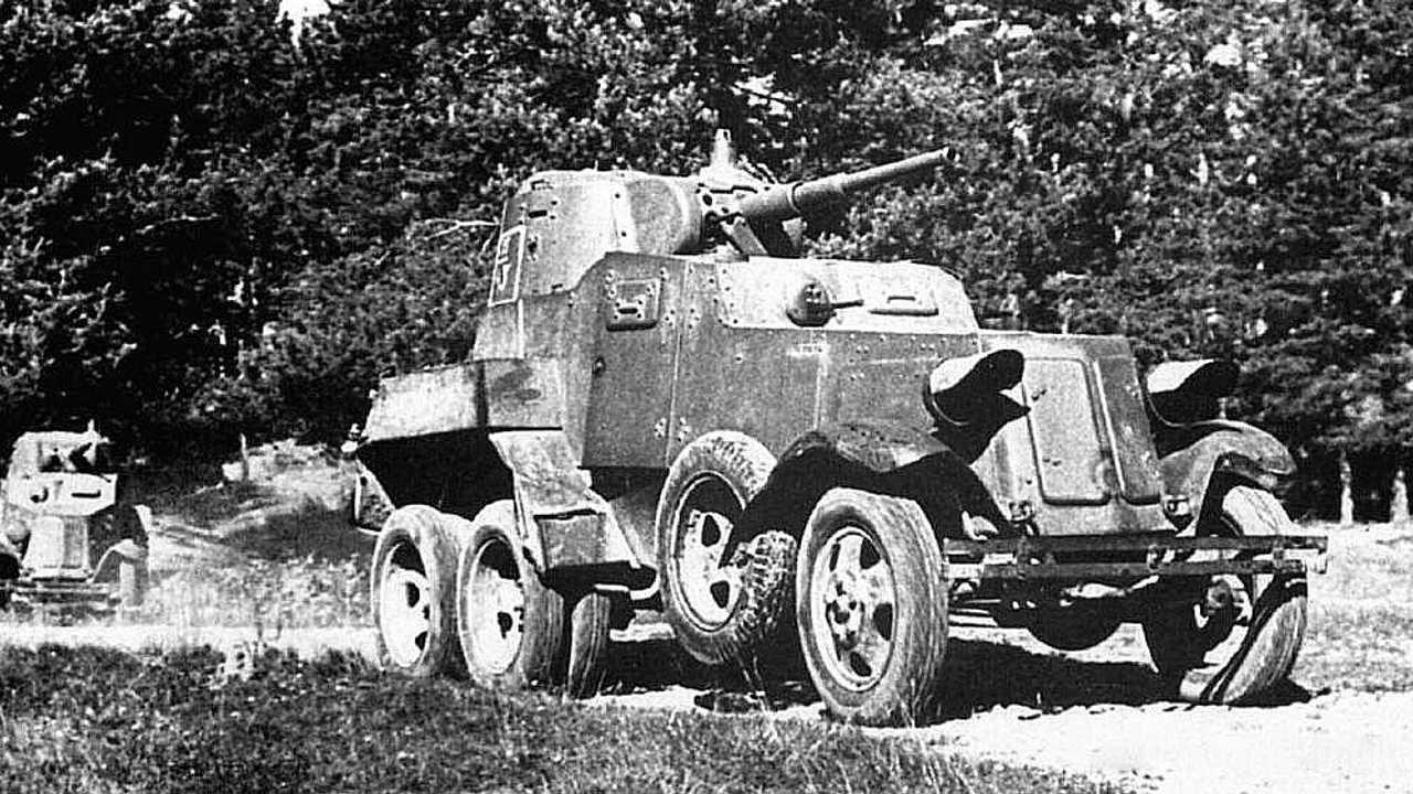 1939 год – БА-10М